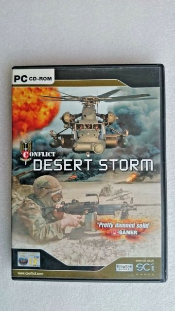 Conflict: Desert Storm (PC: Windows, 2002) - Original Release